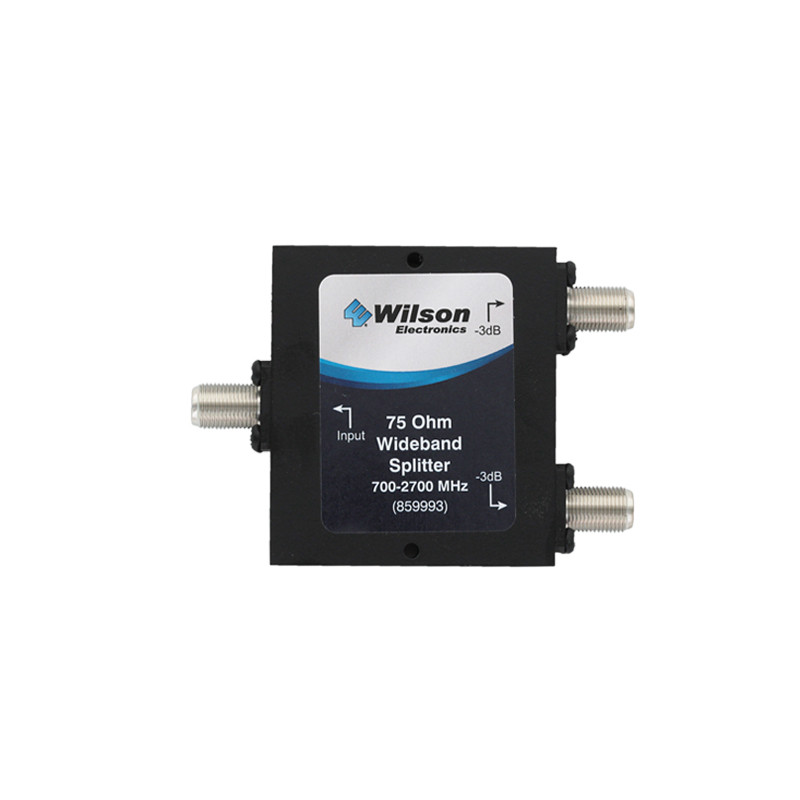 Wilson 859993 -3 dB Splitter 75ohm Wide Band 700-2700 Mhz, Front