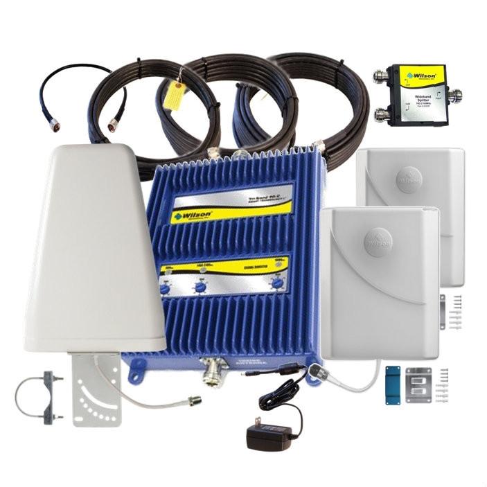 Tri-Band 4G-C Kit w/ 2 Panels, +70dB Canada - Wilson 802770-BL2, main