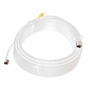 Wilson 952475 75-Foot WILSON400 Ultra Low-Loss Coaxial Cable Male-Male - White, main