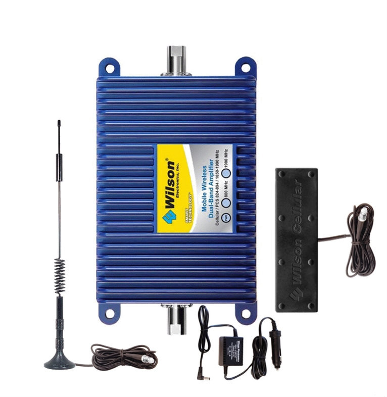 "Wilson 801212 Mobile Wireless Kit ""Best Seller"" +50dB Vehicle Signal Booster Complete Kit, Multi-User/Wireless - main image"