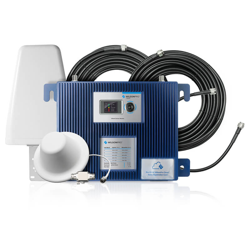 9950a109638 Wilson Pro 1000C Signal Booster with Cloud Service Integration