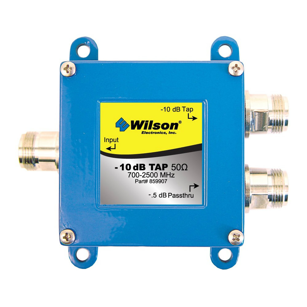 Wilson 859907 -10 dB Cable Tap Wide Band 700-2500 Mhz, main image