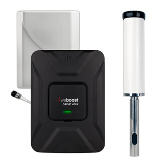 weboost 470510-m drive 4g-x with marine essentials cell phone signal booster