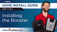 Installing a signal booster