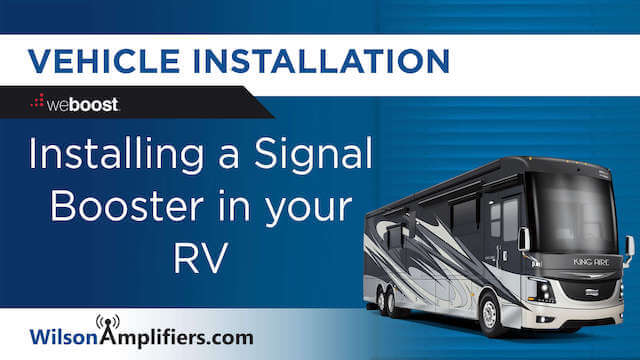 Install Signal Booster in a RV