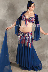 ENTICING ENCORE by Oriental Originals, Turkish Belly Dance Costume, Available for Custom Order