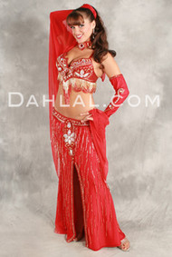 GILDED ROSE by Oriental Originals, Turkish Belly Dance Costume, Available for Custom Order