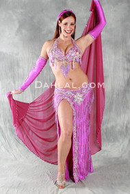 ORIENTAL BLOOM by Oriental Originals, Turkish Belly Dance Costume, Available for Custom Order