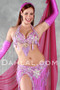 ORIENTAL BLOOM by Oriental Originals, Turkish Belly Dance Costume, Available for Custom Order image