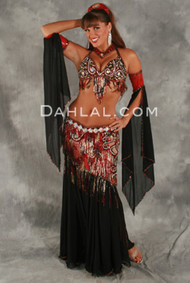 BEWITCHING BEAUTY by Oriental Originals, Turkish Belly Dance Costume, Available for Custom Order