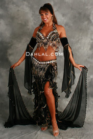 STARLIT DAZZLE by Oriental Originals, Turkish Belly Dance Costume, Available for Custom Order