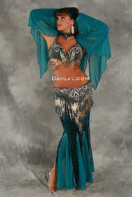DREAMWEAVER IV by Oriental Originals, Turkish Belly Dance Costume, Available for Custom Order
