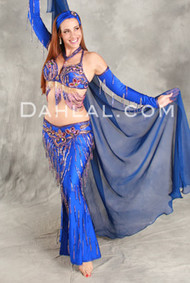 BEJEWELED BEAUTY by Oriental Originals, Turkish Belly Dance Costume, Available for Custom Order