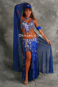 CELESTIAL STUNNER by Oriental Originals, Turkish Belly Dance Costume, Available for Custom Order
