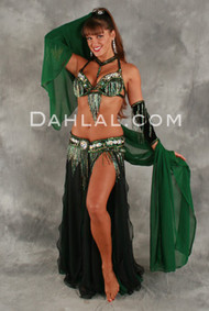 REGAL CHIFFON by Oriental Originals, Turkish Belly Dance Costume, Available for Custom Order