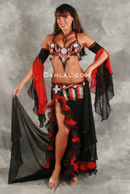 RIO SUNSET III by Oriental Originals, Turkish Belly Dance Costume, Available for Custom Order