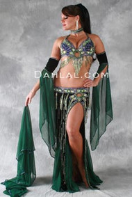 FRENCH QUARTER by Oriental Originals, Turkish Belly Dance Costume, Available for Custom Order
