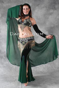 ETHEREAL TREASURE by Oriental Originals, Turkish Belly Dance Costume, Available for Custom Order
