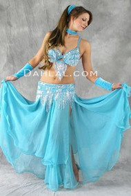 CHIFFON CHIC by Oriental Originals, Turkish Belly Dance Costume, Available for Custom Order