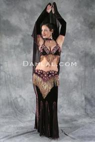 CABERNET by Oriental Originals, Turkish Belly Dance Costume, Available for Custom Order