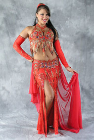 SIREN'S SPLENDOR by Oriental Originals, Turkish Belly Dance Costume, Available for Custom Order