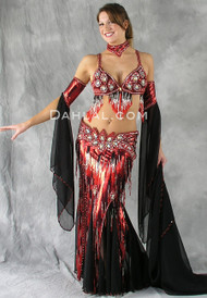 PHOENIX RISING by Oriental Originals, Turkish Belly Dance Costume, Available for Custom Order