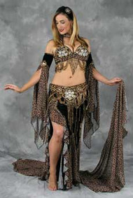 ORIENTAL SPLENDOR by Oriental Originals, Turkish Belly Dance Costume, Available for Custom Order