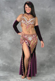VELVET MINX by Oriental Originals, Turkish Belly Dance Costume, Available for Custom Order