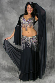 TWILIGHT SHIMMER by Oriental Originals, Turkish Belly Dance Costume, Available for Custom Order