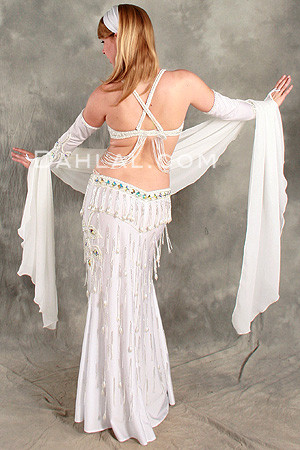 DAZZLING DIAMONDS by Oriental Originals, Turkish Belly Dance Costume, Available for Custom Order image