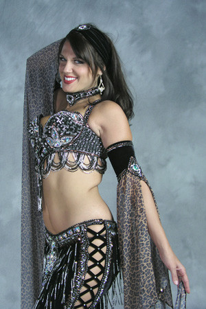 TIGRESS by Oriental Originals, Turkish Belly Dance Costume, Available for Custom Order image
