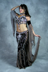 TIGRESS by Oriental Originals, Turkish Belly Dance Costume, Available for Custom Order