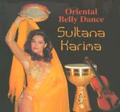 Sultana Karima, Belly Dance CD image