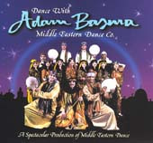 Dance w/ Adam Basma Vol. II, Belly Dance CD image