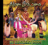Adam Basma In Concert 2005 vol. 1, Belly Dance CD image