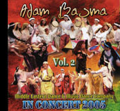 Adam Basma In Concert 2005 vol. 2, Belly Dance CD image