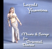 Layali Yasmina, Belly Dance CD image