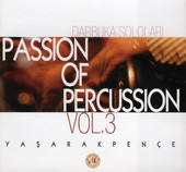 Passion of Percussion Vol. 3, Belly Dance CD image