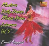 Modern Bellydance Music from Lebanon Vol 5, Belly Dance CD image