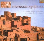 Moroccan Gypsies, Belly Dance CD image