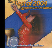 Faten Salama Best of 2004, Belly Dance CD image