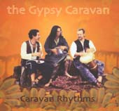 Caravan Rhythms by Gypsy Caravan, Belly Dance CD image