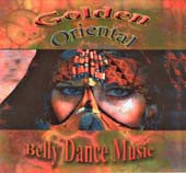 Golden Oriental, Belly Dance CD image
