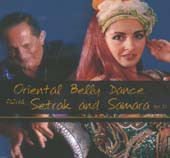 Setrak #21:  Oriental Belly Dance with Setrak and Samara, Belly Dance CD image