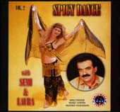 Spicy Dance w/ Semi & Laura, Belly Dance CD image
