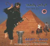 Best of Saidi Dance w/ Eva, Belly Dance CD image