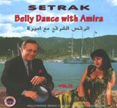 Setrak #12:  Belly Dance with Amira, Belly Dance CD image