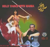 Setrak #13:  Belly Dance with Naima, Belly Dance CD image