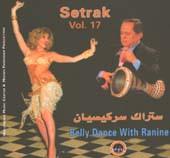 Setrak #17:  Belly Dance with Ranine, Belly Dance CD image