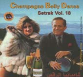 Setrak #18:  Champagne Belly Dance, Belly Dance CD image